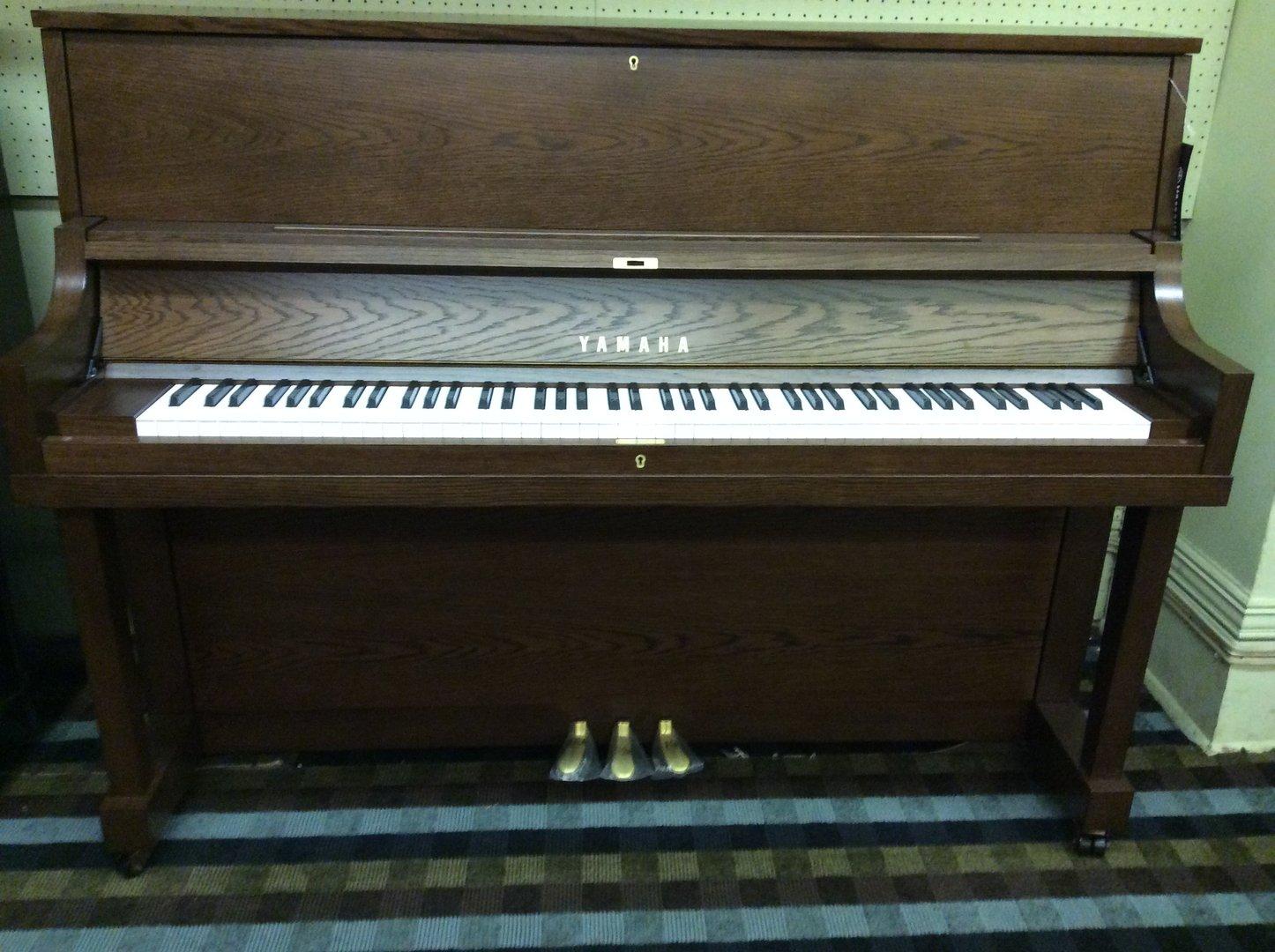 New piano yamaha p22 studio dark oak leithold music 608 for New yamaha piano
