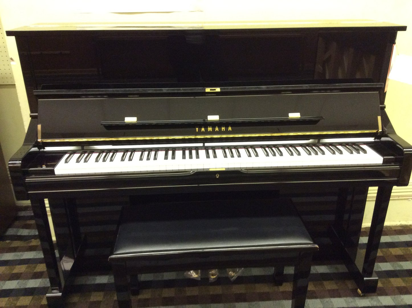 New piano yamaha u1pe leithold music 608 784 7555 for Yamaha u1 professional upright piano