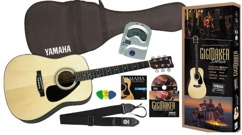 Yamaha Guitar Pack! Yamaha Acoustic guitar with accessories! Gigmaker DELUXE!