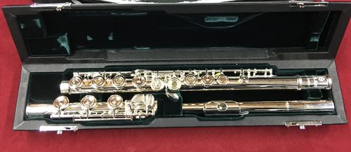 Azumi Flute by Altus!  AZ3SRBO Open Hole, B-foot. Sterling Body and Head joint!