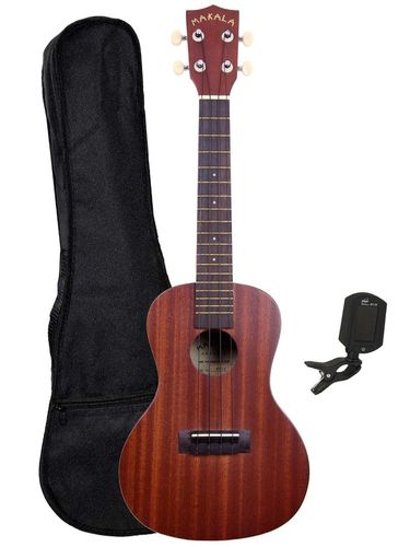 Makala Concert Uke starter pack - includes case and accessories!