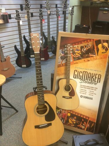 Yamaha Guitar Pack! Yamaha Acoustic guitar with accessories! Gigmaker Standard!