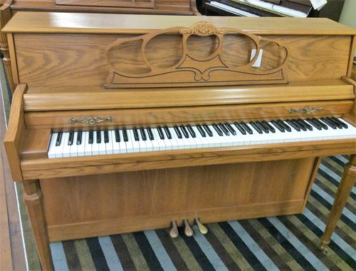Used Piano Wurlitzer 2255 Oak Console