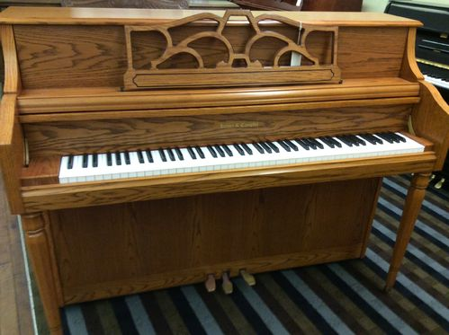 USED Kohler and Campbell 144 oak console piano