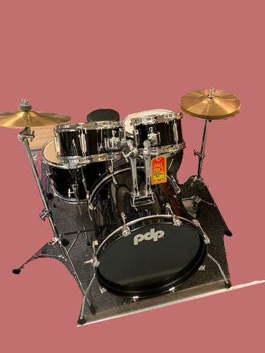 "PDP ""Player Jr"" Kid-size (small) drumset with cymbals. NOT a toy!"