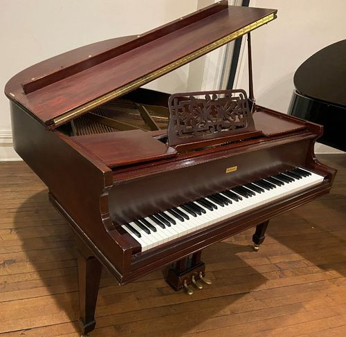 "USED Gulbransen 4'11"" Parlor Grand Piano"