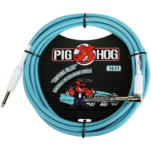 Pig Hog Right Angle Instrument Cable 10 ft.