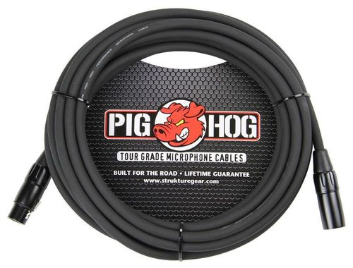 Pig Hog 8mm Mic Cable, 20ft XLR