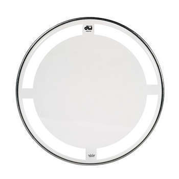 DW Coated Clear Drumheads
