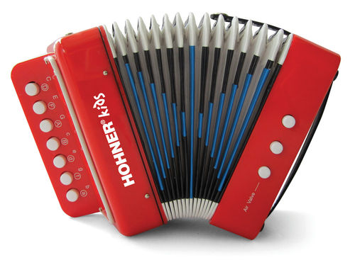 Hohner Kids UC102 Toy Accordion - Red