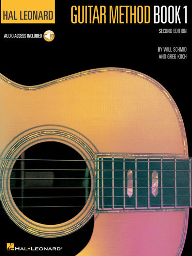 Hal Leonard Guitar Method Book 1 - Book/Online Audio